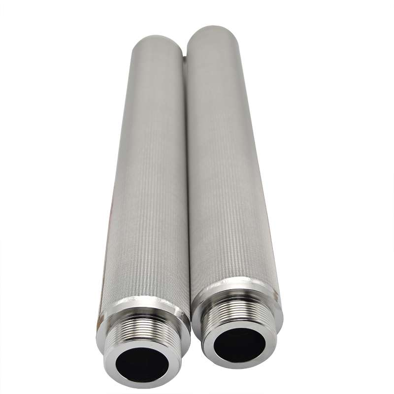 Sintered wire Metal Filter Candle of five layers wire mesh
