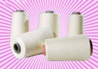 70% viscose 30 nylon blend yarn 28s/1 28s/2 raw white