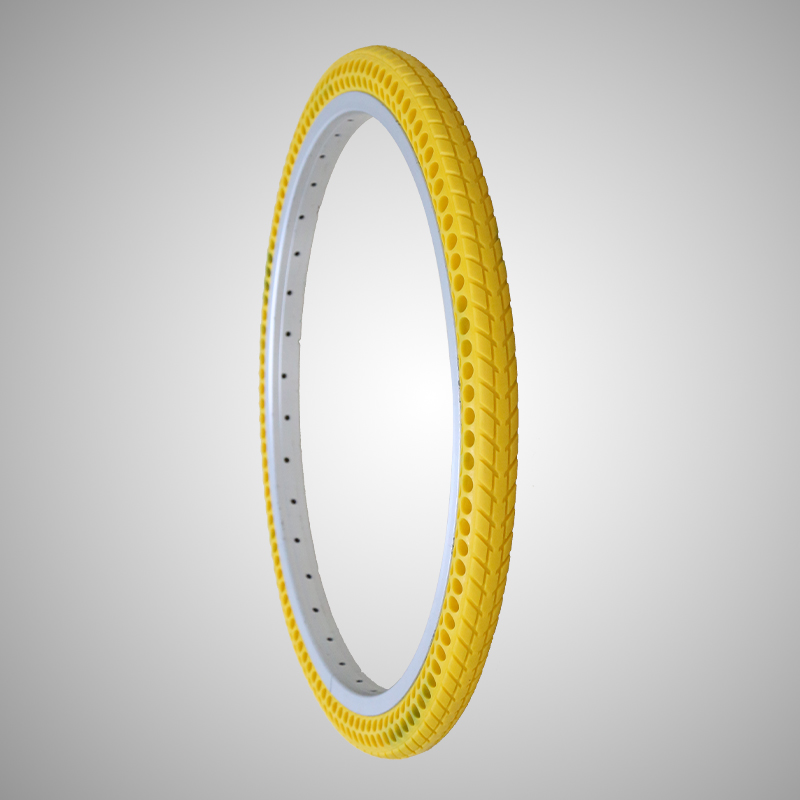 City/Road no tire bicycle tire Non-pneumatic 261-3/8 bike tyre Tubeless bicycle tyre