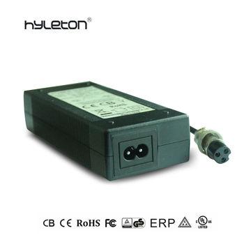 36v 42v 2a Li-ion E-bike Scooter Battery Charger Ac Dc Adapter Ul Listed