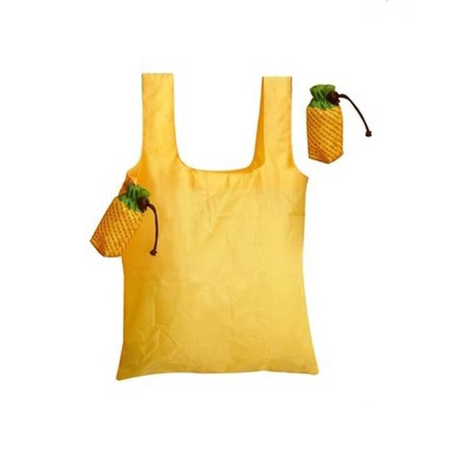 Fruit shaped polyester shopping bag