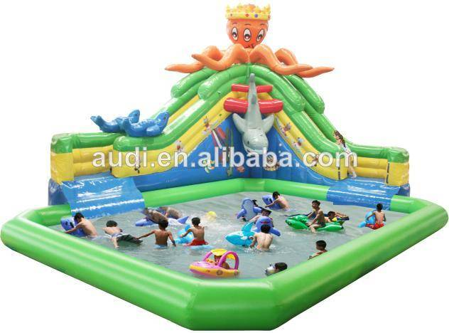 Giant inflatable water park,inflatable water pool