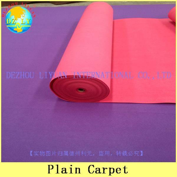 100% polyester cheap exhibition carpet