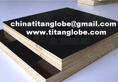 Black Construction Plywood