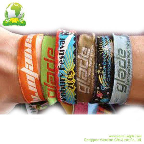 Custom Woven/ screen printing/ sublimation Wristband