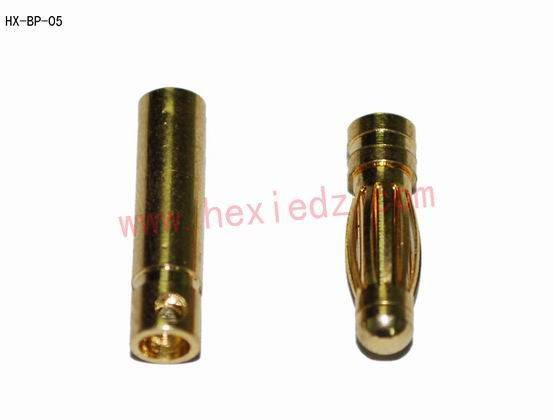 3.0mm bullet connector male and female