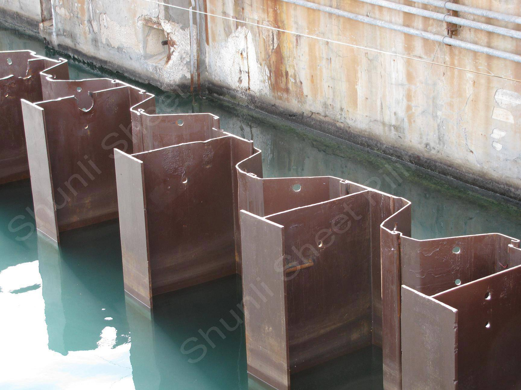 Steel Sheet Pile Retaining Wall Manufacturer Supplier