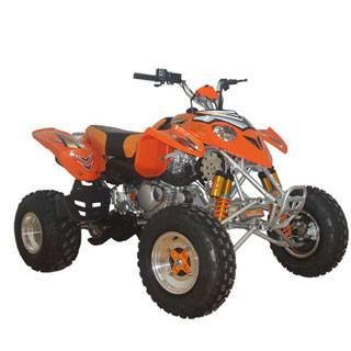 Predator style atv for 300cc with disc brakes