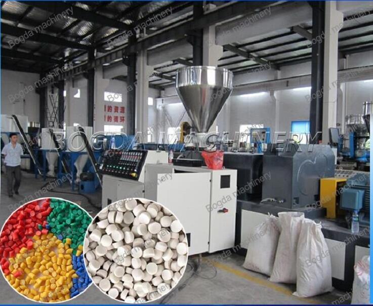 Recycled PVC Pelletizing Machine / PVC Hot Cut Pelletizing Line