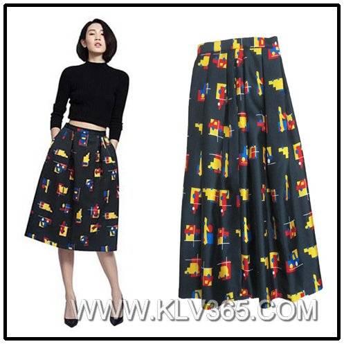 Latest Skirt Design Women Long Skirt Model China Wholesale