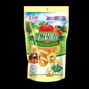 we produce dried fruit apple chips healthy snack food in China