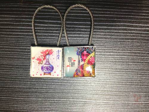 2013 Hot Sale Promotional Custom Metal Keychain