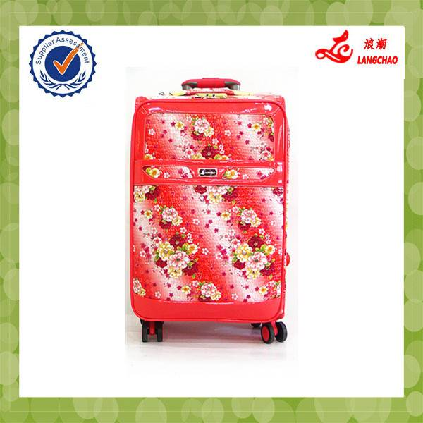 Pu Best soft Carry-on Suitcase BV certificate Hot Wheels Carry-on Suitcase factory price pu Luggage