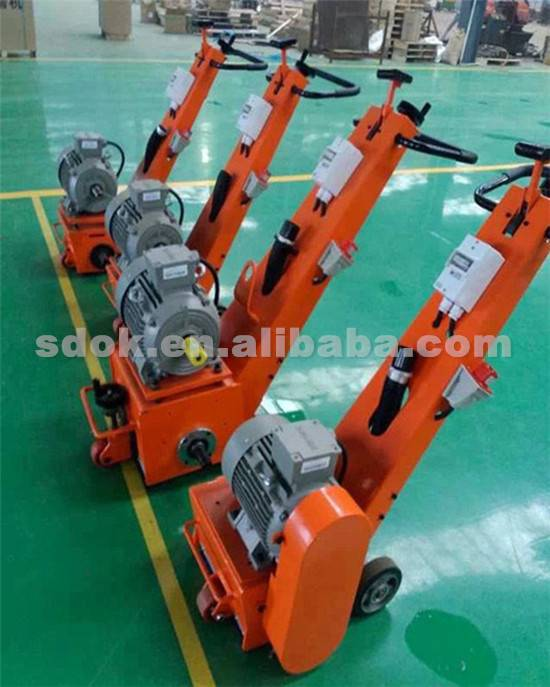 Best priceOKX-300E Concrete road milling machine, electric milling machine