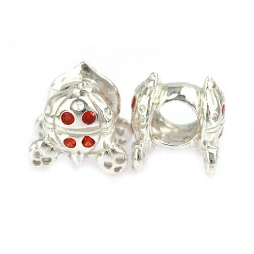 925 sterling sivler charms beads with stone 05