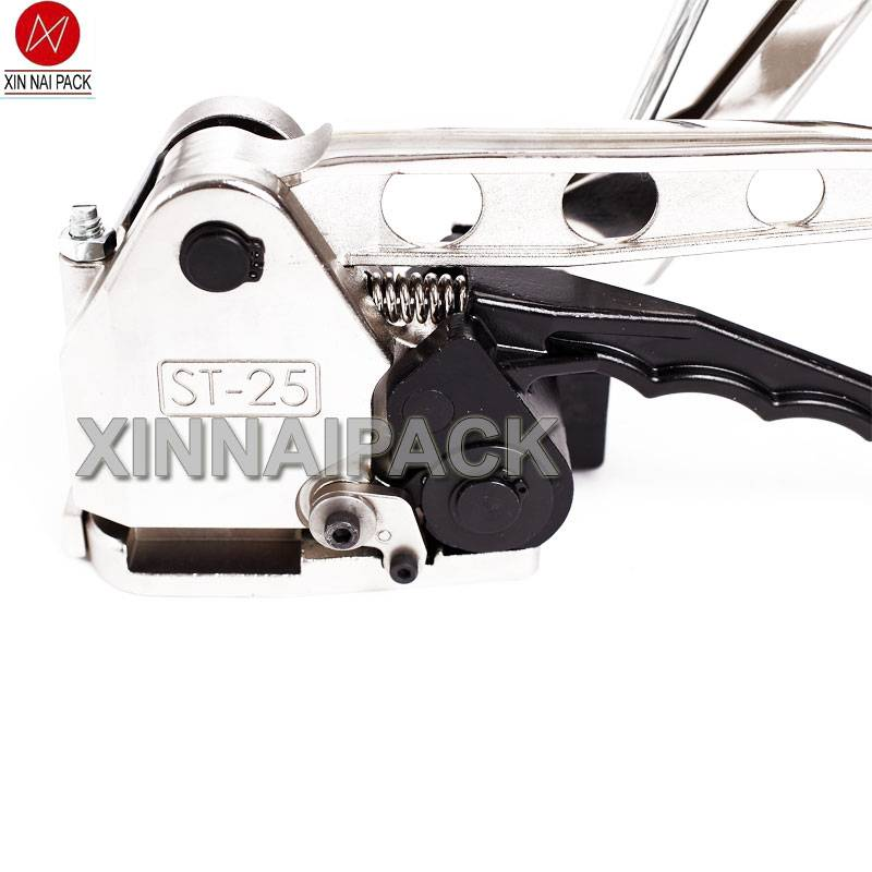 ST-25 manual free clamp steel band strapping tool