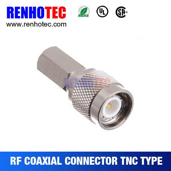 High quality TNC Male Clamp Type RG59 Connector