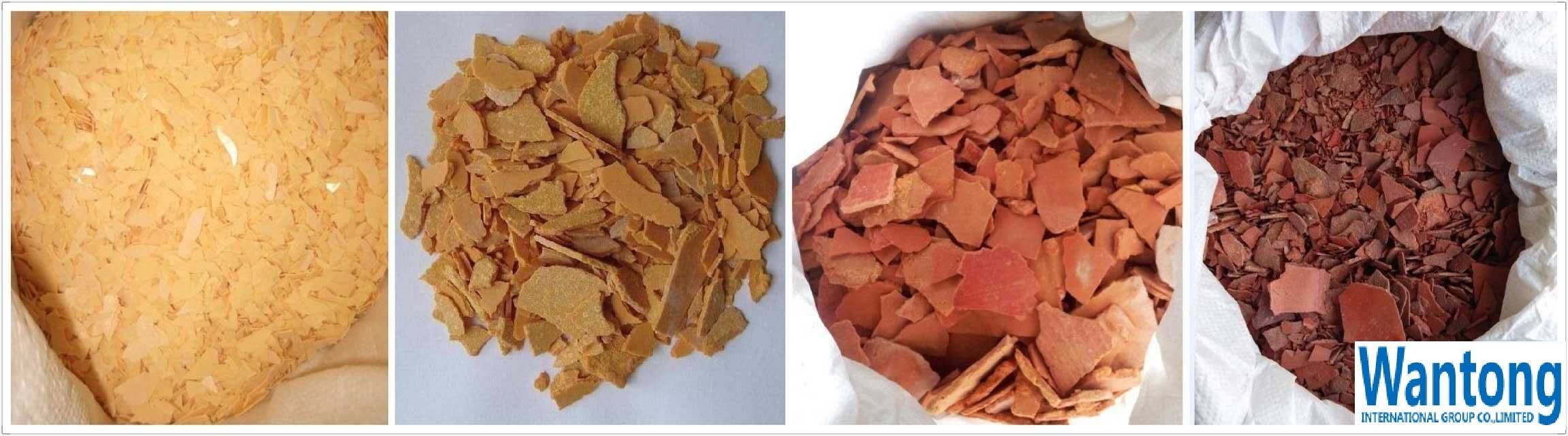 60%min Sodium Sulphide Red Flakes 1500ppm