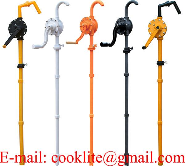 Fuel Transfer Hand Pump / Hand Rotary Lobe Pump / PP Rotary Hand Adblue Pump