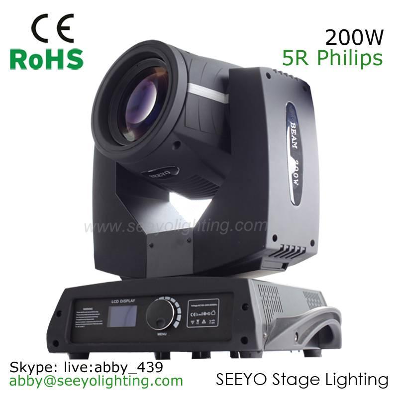 5R 200W Beam Moving Head Light