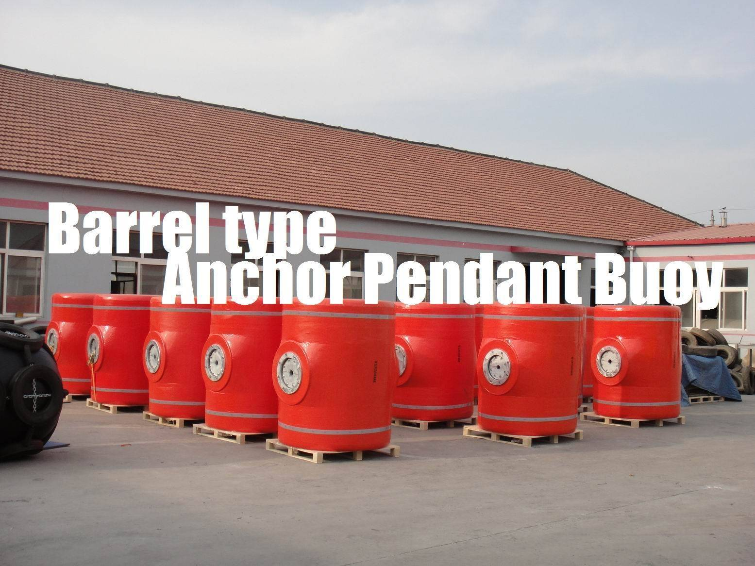 Barrel type Anchor Pendant Buoy with Crucifix, General Surface Buoy