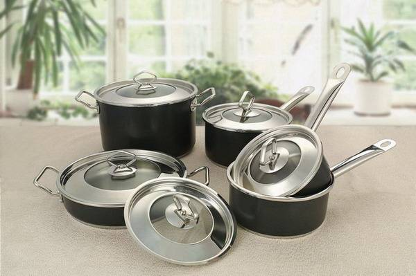 Cookware Stainless Steel Products.