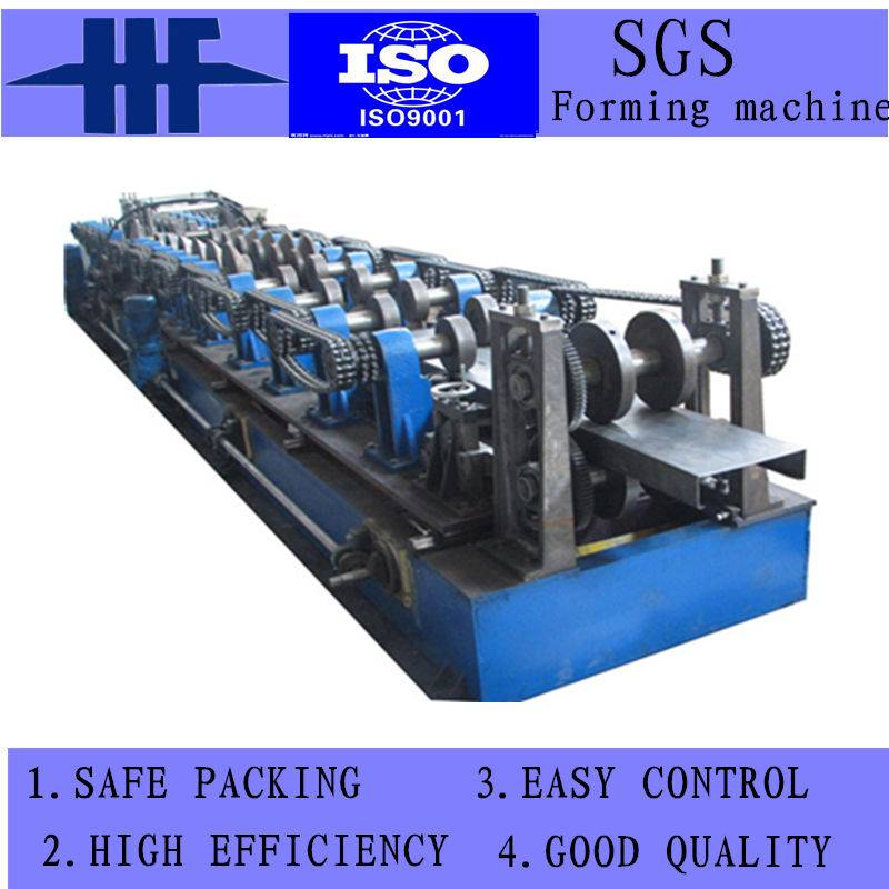 Used Steel Frame Gutter Cold Roll Forming Machine