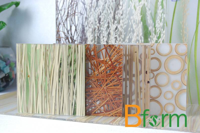 Environment-friendlyBform resin panels, ideal for indoor decorations