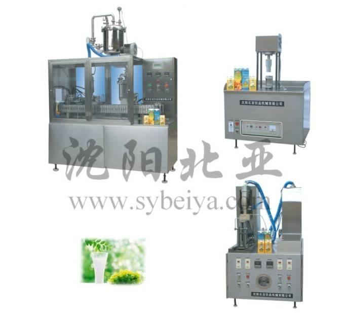Soy Milk Gable-Top Filling Machine (BW-1000-3)