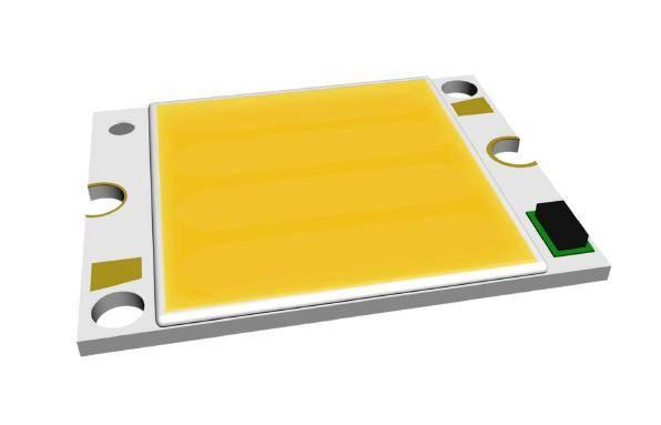 [COB] High power multi chip array LED - B10R2 Series (10W) - 25x20 PCB (white)