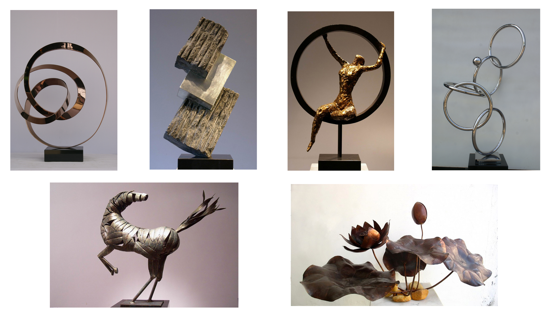 Manufacture of metal art decorations
