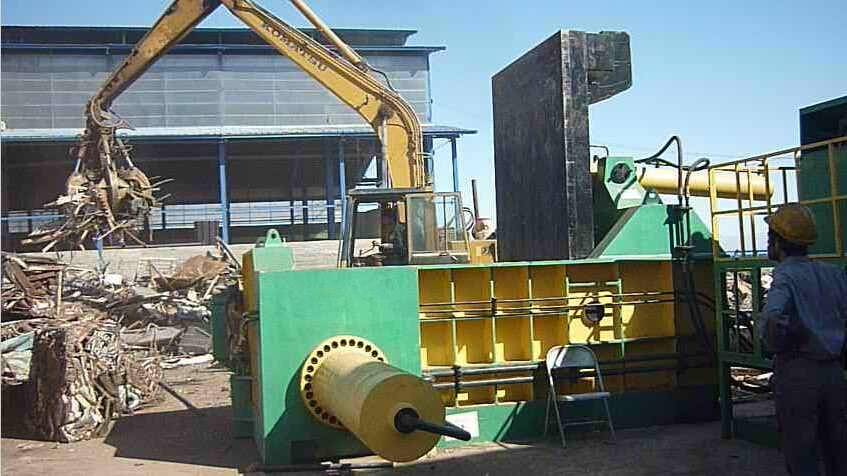 Scrap Metal Press Baling Machine Hot Sale