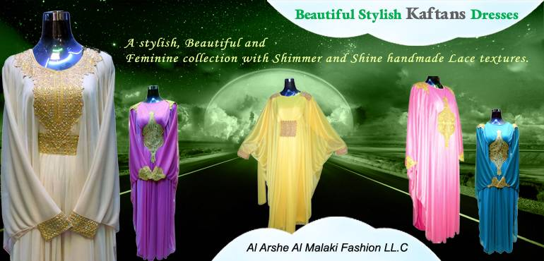 A stylish, Beautiful and Feminine kaftans collection