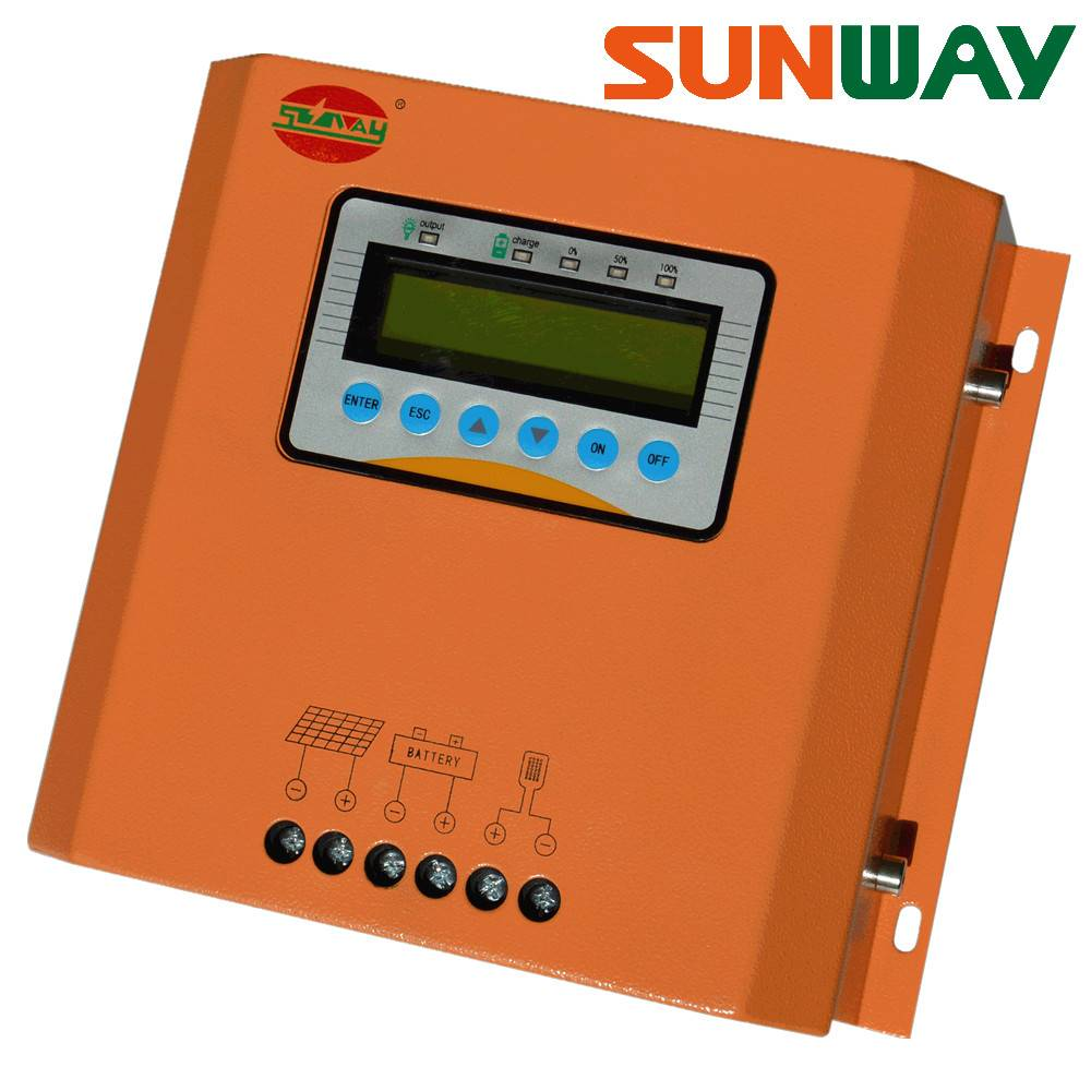 12V/24V/36V/48V 50A PWM solar charge controller for solar power system
