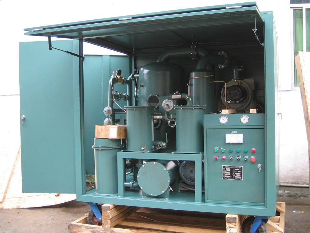Dielectric Oil Processing, Oil Reclamation, Oil Purification and Oil Treatment Machine