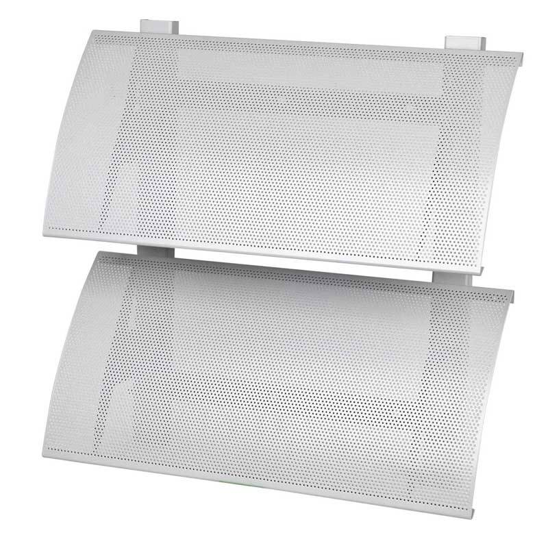 Dexone Aerowing Aluminum sun louver with perforated panels