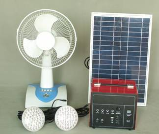 Solar rechargeable system