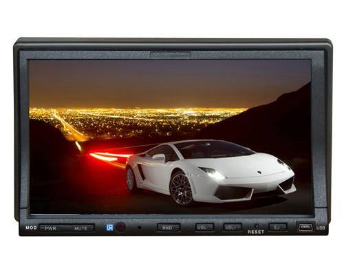 All-in-one Car DVD Player 2 Din 7 Inch GPS DVB-T