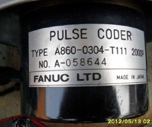 Fanuc Pulse coder A860-0304-T111 2000P