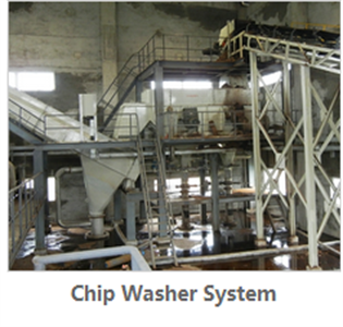 Chip washer system
