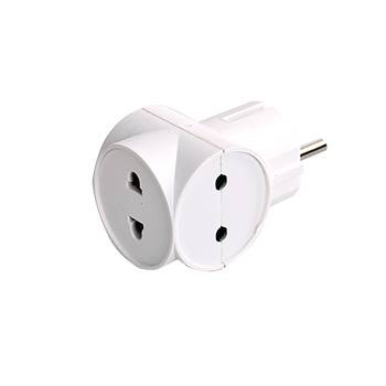 1 to 3 travel adaptor