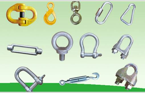 We can supply the rigging hardware