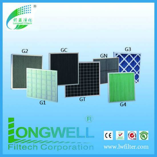 top quality air intake disposable panel filter