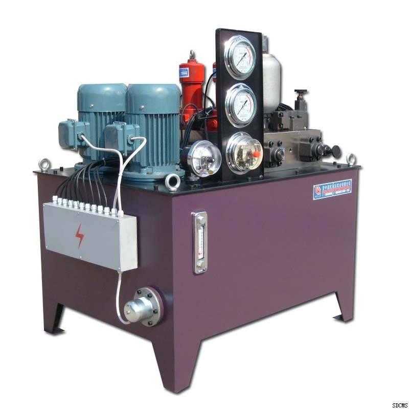 double pump hydraulic power unit electric cabinet hydraulic machine