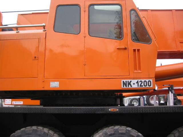 used Kato120ton truck crane