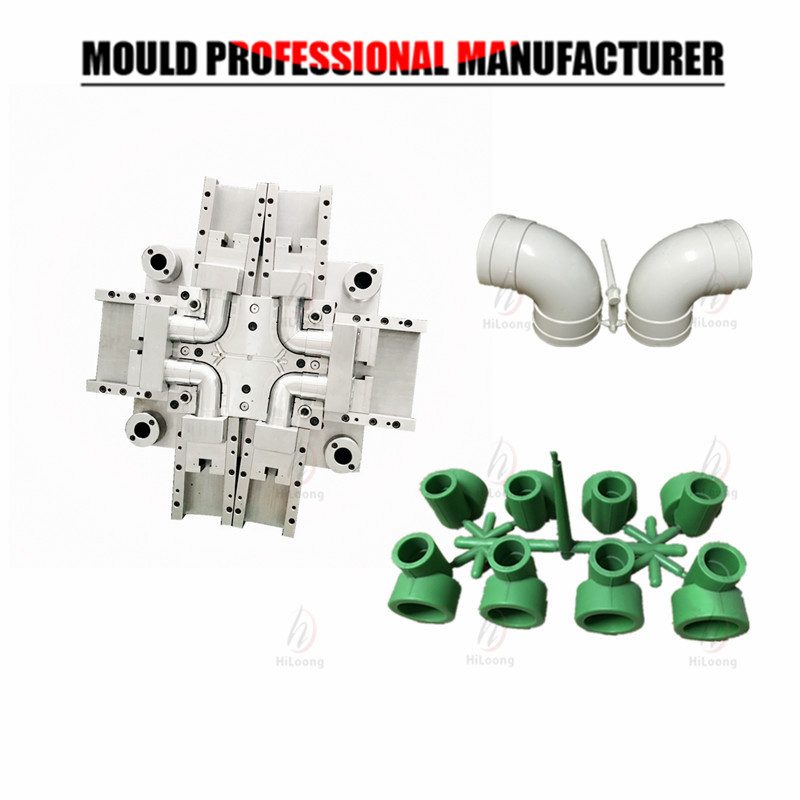 Plastic Injection Mold Pipe Mold PVC Fitting Mold