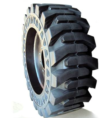 ANair Auxiliary Plate Solid Tire 31x6x10, for Loader and other industrial
