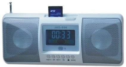 JXD-S06 wooden super sound box speaker