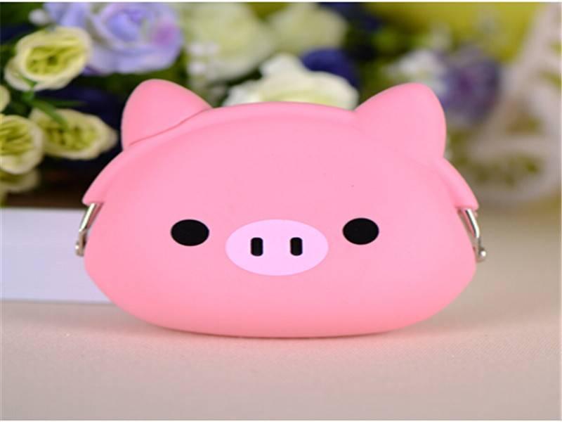 2015 hot selling big hero 6 baymax cartoon cut silicone key wallet ,baymax key bag