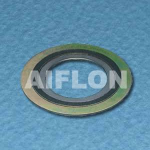 Monel Spiral wound gasket with inner and outer ring
